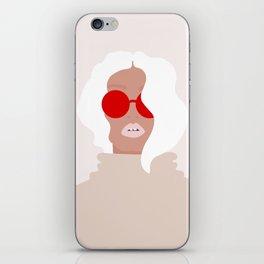 white beauty iPhone Skin