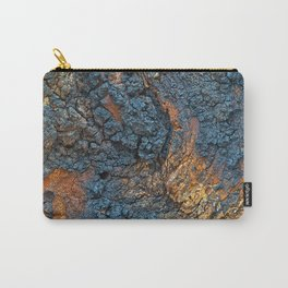 Charred Wood Texture Carry-All Pouch