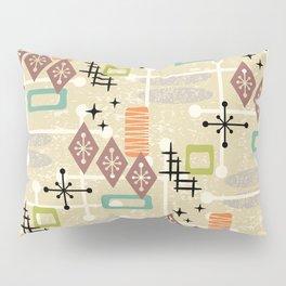 Retro Mid Century Modern Atomic Abstract Pattern 241 Pillow Sham