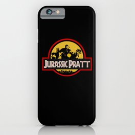 Jurassic Pratt iPhone Case