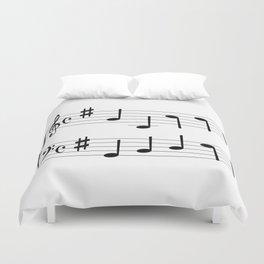Music Chord Duvet Cover