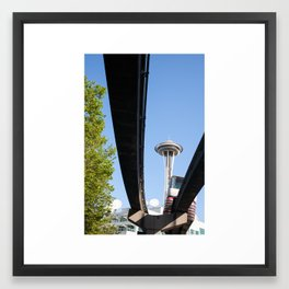 Beautiful Morning in the Emerald City II Framed Art Print