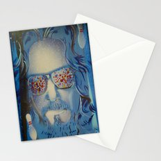 Blue Dude : The Big Lebowski  Stationery Cards