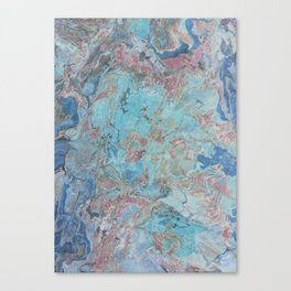 Planet Gracenerth Abstract Canvas Print