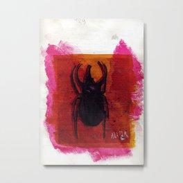 Deer fly Metal Print