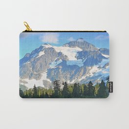 SUNNY DAY AT PICTURE LAKE MOUNT SHUKSAN Carry-All Pouch