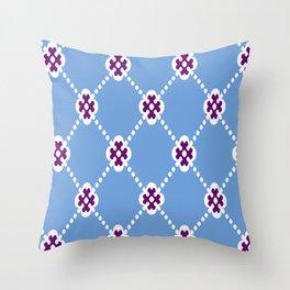 Bluey Huey Throw Pillow