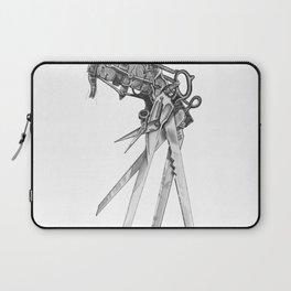 Scissorhands(BW-R) Laptop Sleeve