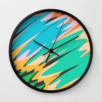 kids Wall Clocks featuring Kids by Celery Woulise