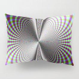 Fractal Moire Pillow Sham
