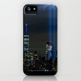 Tribute in Lights  iPhone Case
