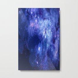 night in blue Metal Print