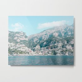 The Positive Mountains Metal Print
