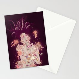 Abyss Lady Stationery Cards