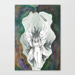 Stuck Canvas Print