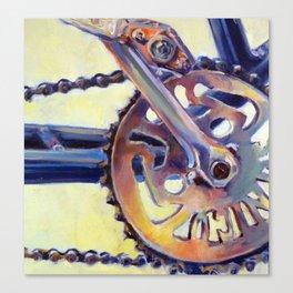 Bicycle Crank Canvas Print