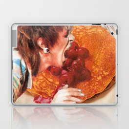 Bowie Likes Pancakes Laptop & iPad Skin
