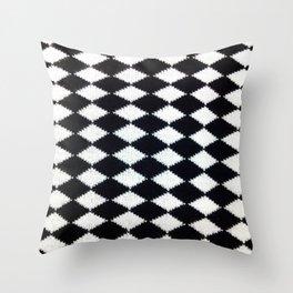 B & W Throw Pillow