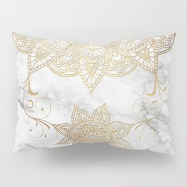 Mandala - Golden drop Pillow Sham