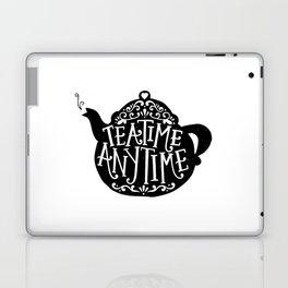 TEA TIME. ANY TIME. Laptop & iPad Skin