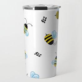 Buzzing Bees Travel Mug