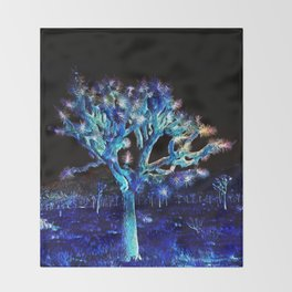 Joshua Tree VG Hues by CREYES Throw Blanket
