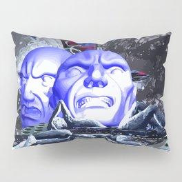 Maske des Bösen Pillow Sham