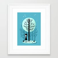 snow white Framed Art Prints featuring Snow White by Freeminds
