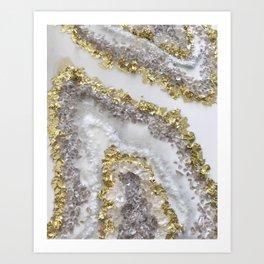 Geode Art Art Print
