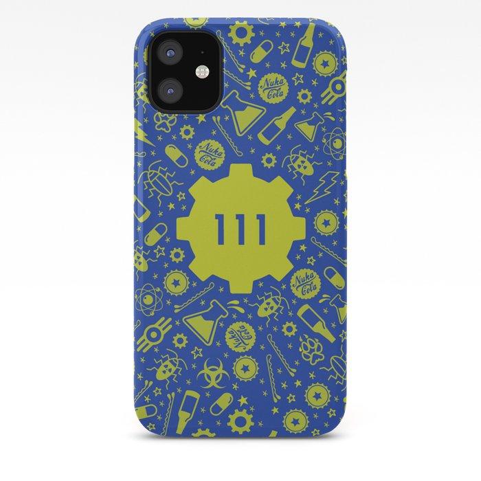 Fallout 4 Vault 111 Iphone Case
