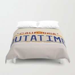 California Out A Time Duvet Cover