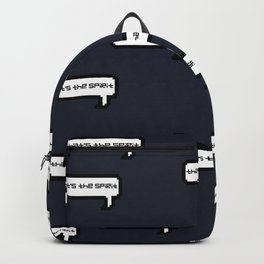 That's The Spirit - Navy Backpack