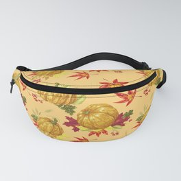 Ocher autumn pattern Fanny Pack