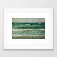emerald Framed Art Prints featuring emerald by Iris Lehnhardt