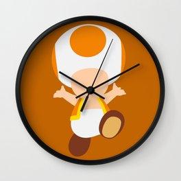 Orange Toad (Super Mario) Wall Clock