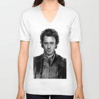 sherlock holmes V-neck T-shirts featuring Sherlock Holmes by ChrisPastel