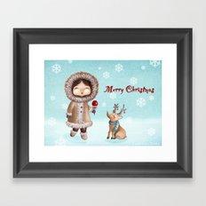 Eskimo Framed Art Print