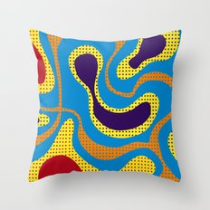 Carnival, colorful Brazil Throw Pillow