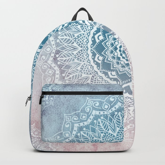 VINTAGE SPRING LACE MANDALA Backpack