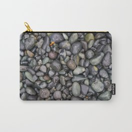 Wet Stone Pebbles Carry-All Pouch