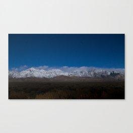 Starry Sierras Canvas Print