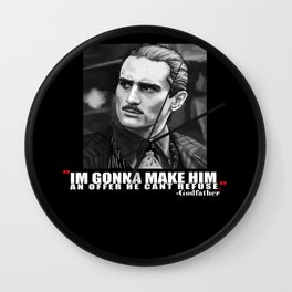 Godfather Wall Clock