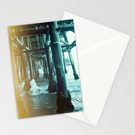 Under the Pier.  Stationery Cards
