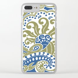 Bohemian Paisley Clear iPhone Case