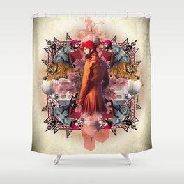 Kaleidoscope India Shower Curtain