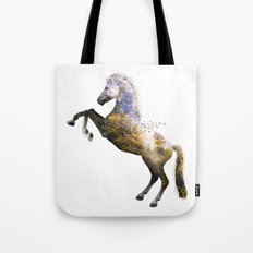 Horse view VI Tote Bag