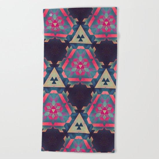 isyhyrrt ∞ cymplyx 1 Beach Towel