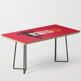Manchester Is United Coffee Table