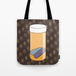 Social Addiction Tote Bag