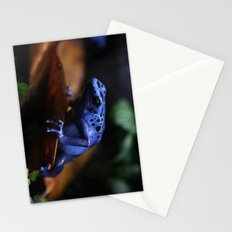 Blue Poison Dart Frog Azureus Stationery Cards